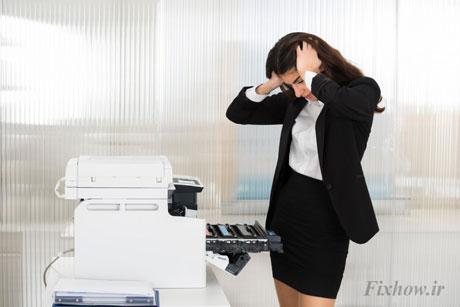 مشکلات چاپ نکردن پرینتر و راه حل آن